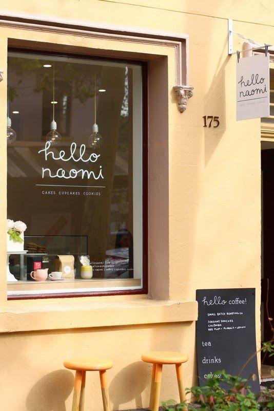 'hello naomi' cake shop / cafe - King Street, Newcastle, Australia