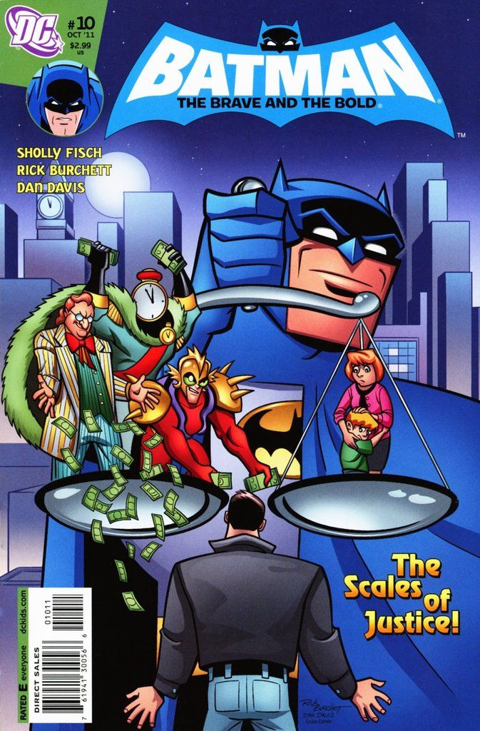 All New Batman The Brave And The Bold 10 With Images Brave
