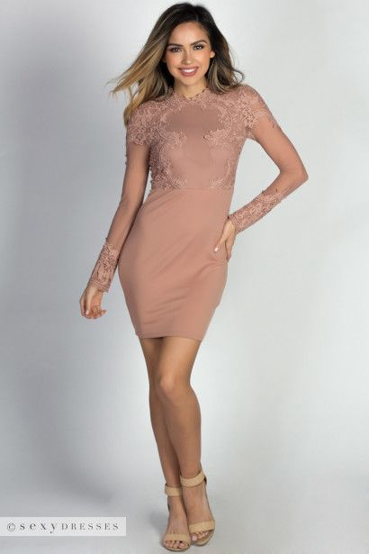 47 best shades of naked nude beige and tan dresses for Beige dress for wedding guest
