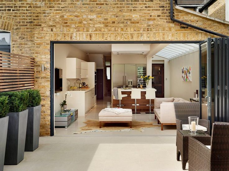 patio layout patio contemporary with bifold glass doors contemporary outdoor ottomans and footstools