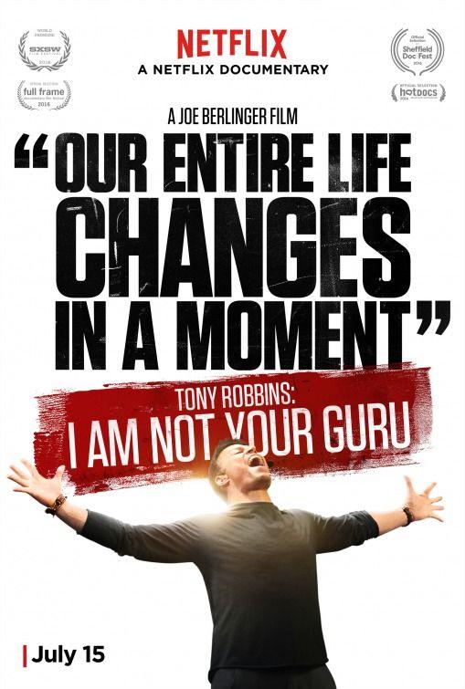 ✔️Tony Robbins: I Am Not Your Guru