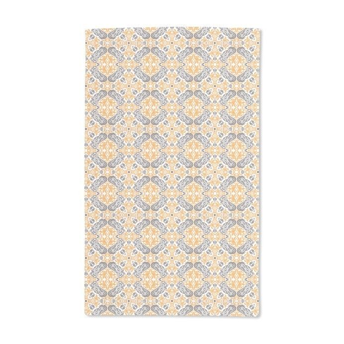 Uneekee Time Curls By Hand Towel, Blue