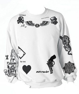 ed80efbc One Direction ZAYN MALIK Tattoo Sweatshirt | Outfits | Zayn malik tattoos, Zayn  malik style, One direction zayn malik