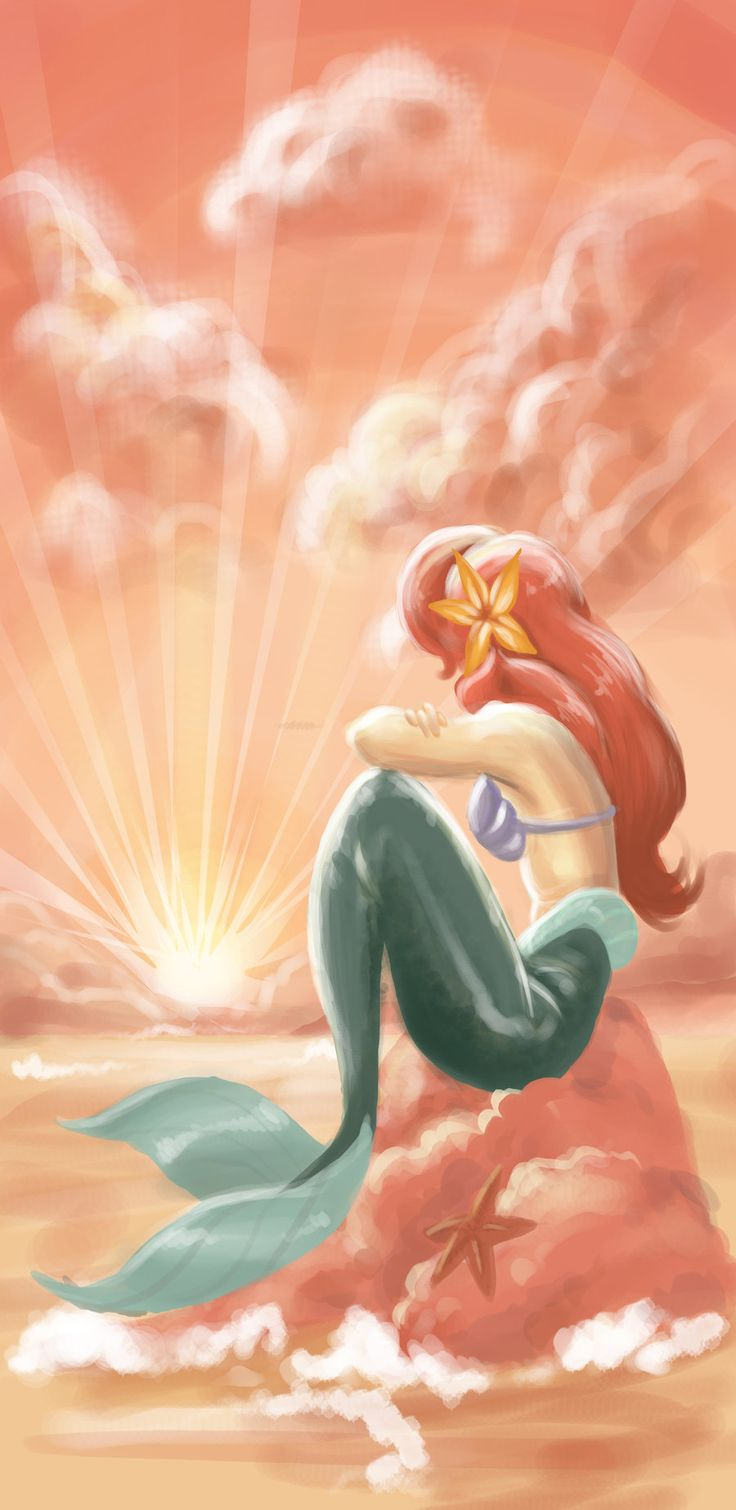 Ariel - The Little Mermaid. Someday I'll  be...part of your world! She is Jada Lynn Coaten's world now. Her best friend.
