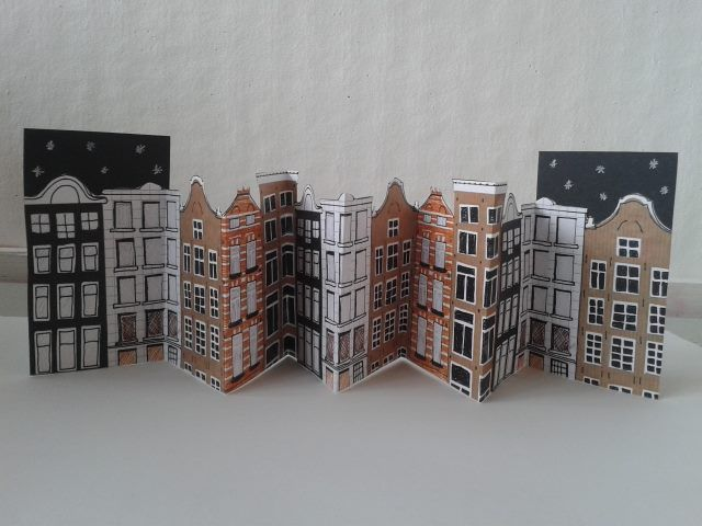 AMSTERDAM concertina book.