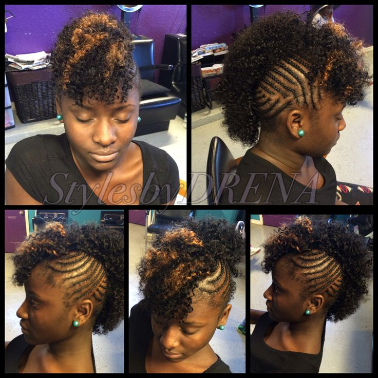 31 best sew insquick weaves images on pinterest extensions braided mohawk w jerry curl sew in braided mohawkquick weavenatural pmusecretfo Gallery
