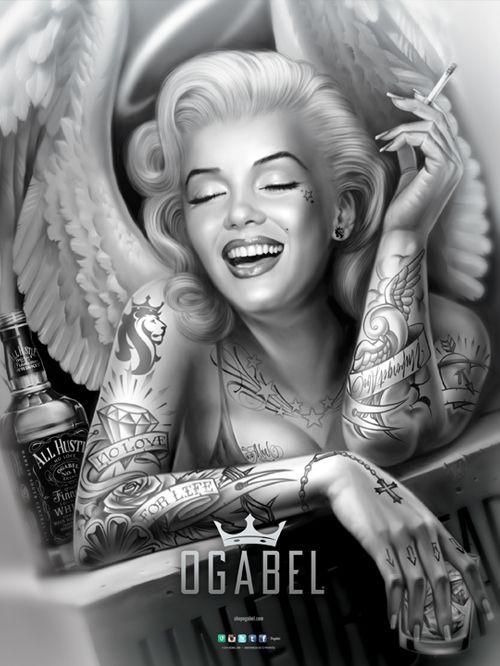 """OG Abel """"Angelyn"""" Poster"""