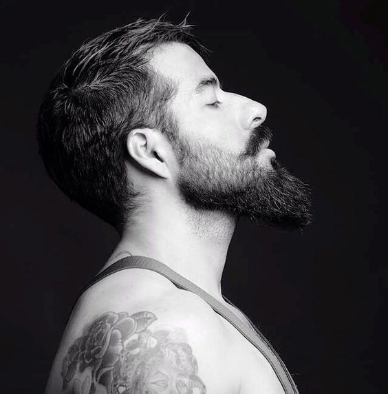 Fade na Barba. Macho Moda - Blog de Moda Masculina: Degradê na Barba: Dicas pra inspirar com a barba em Estilo Fade. Barba em Degradê, Degradê, Cabelo Masculino, Corte de Cabelo Masculino.
