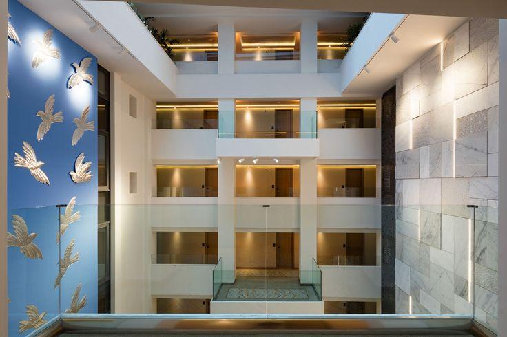 Electra Metropolis Athens design details.