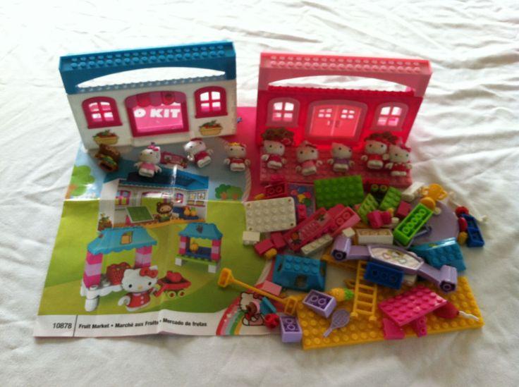 The 25 best hello kitty lego ideas on pinterest hello - Lego hello kitty maison ...