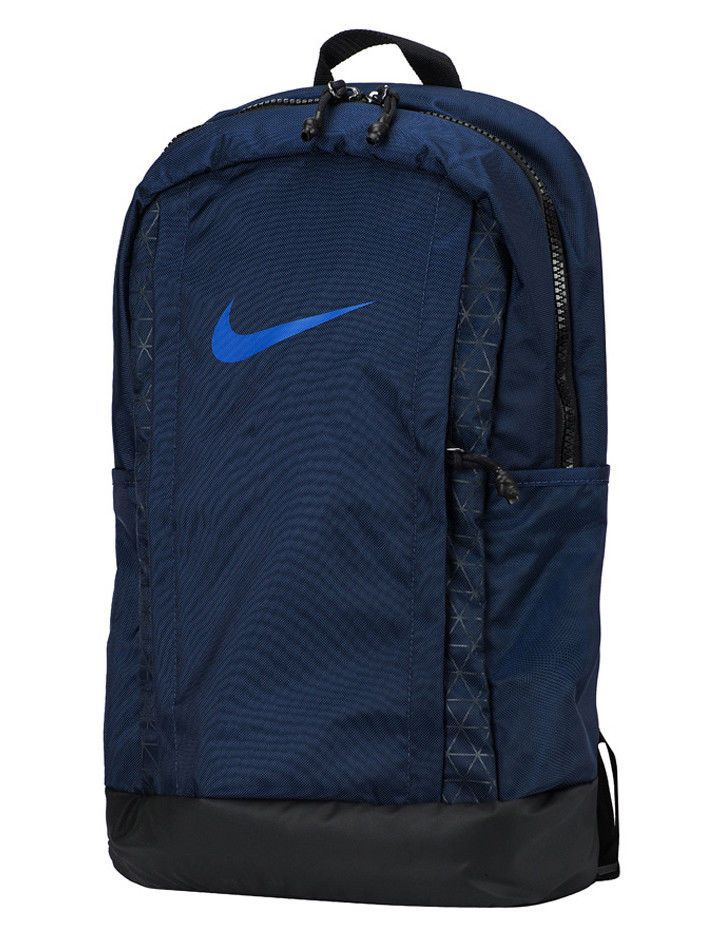 30e33f2cf0 Nike Vapor Z Backpack Bag Navy Soccer Football Fitness Gym Casual NWT  BA5541-410  Nike  Backpack