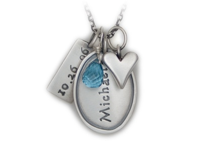 too expensive, but I love the keychain at http://www.heartandstonejewelry.com/keychaincart.php