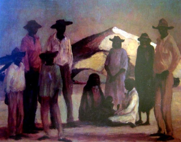The Camp George Russell Drysdale (1912-81) Australia