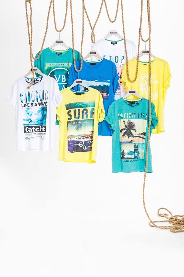 T-shirty męskie na lato Top Secret
