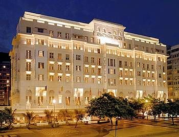 The luxurious Orient - Express hotel Copacabana Palace - Rio de Janeiro
