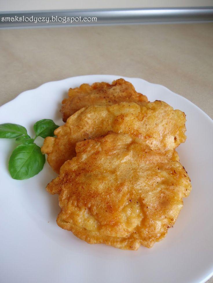 Smak Słodyczy: pierś z kurczaka w cieście serowym