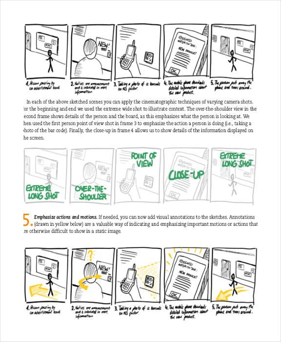 Best Storyboard Template Sample Storyboard Template Rubrics For