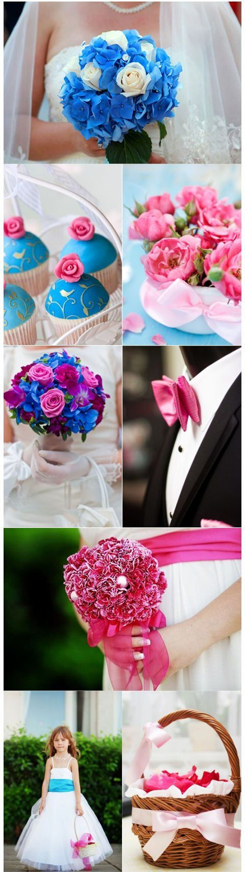 wedding flowers and bouquets 17 best ideas about pink blue weddings on blue 9528