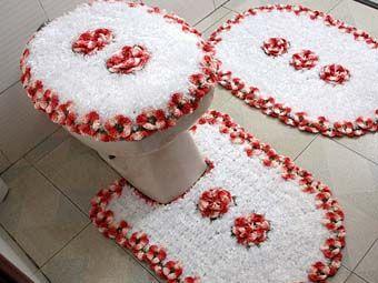 коврики для ванной своими руками фото