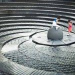 Travel Photo of the Day: Spiral Stair Fountain in Sydney