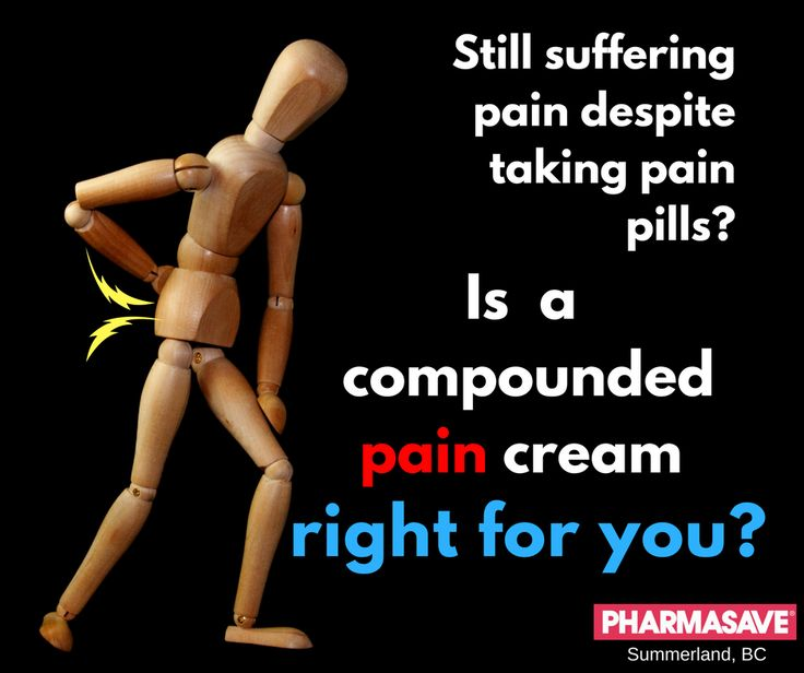 Do you have pain, but can't take oral pain pills?  Read on to learn if special pain creams are right for you. Pain relief in a cream.