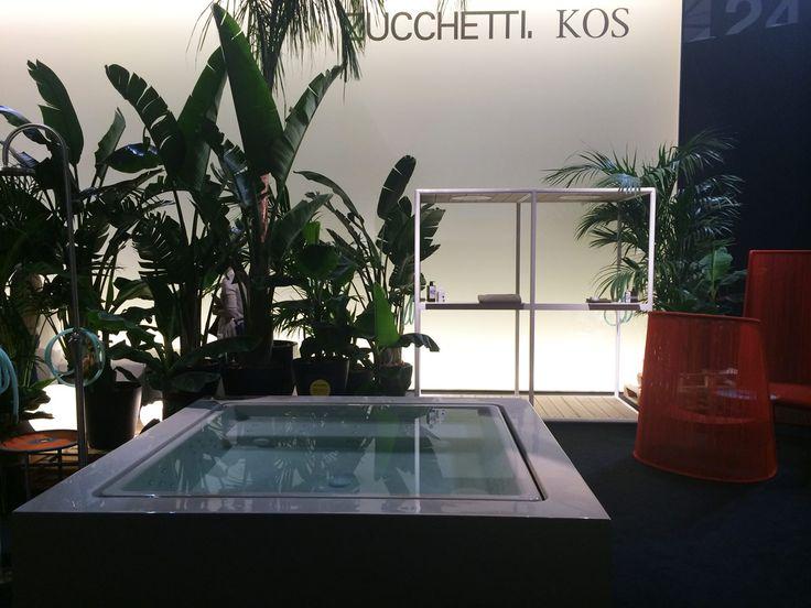 Bath and green for #Zucchetti.Kos at #SalonedelMobile2016
