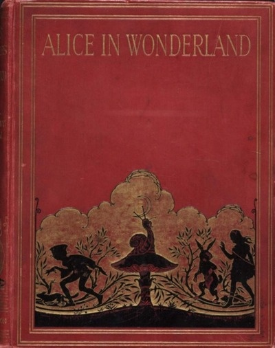 beautiful old copy: Vintage Books, Books Covers, Books Jackets, Covers Books, Alice In Wonderland, Public Libraries,  Dust Covers, Old Books, Lewis Carroll