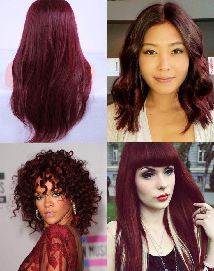 cabelo ruivo marsala só para meninas