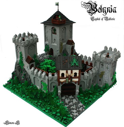 165 best lego castle moc images on pinterest lego castle for Castle architecture design