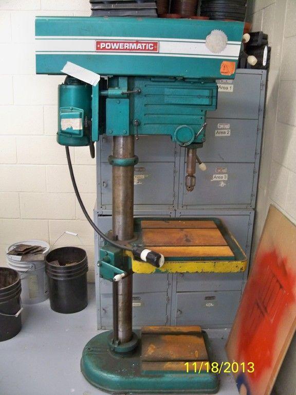 Public Surplus Powermatic Drill Press Owwm Pinterest