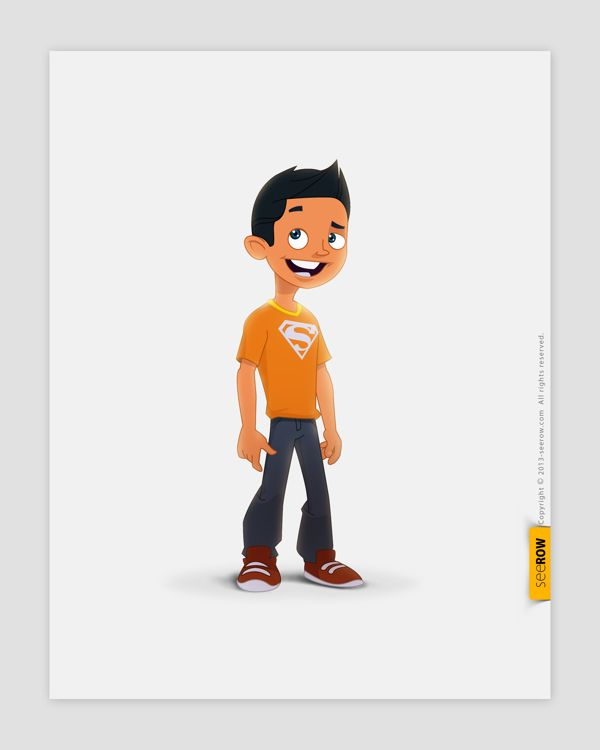 2d Character Design Books : Seerow d character designs by via behance