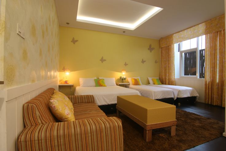 Meet Yellow Grand Suite. Most comfortable for families, with private terrace for puppies. TV cable, WiFi Connectivity will perfect you family holiday. Not to mention the pool and lovely kitchen will always available for you.