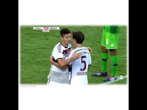 Lewandowski stunning goal for FC Bayern Munich