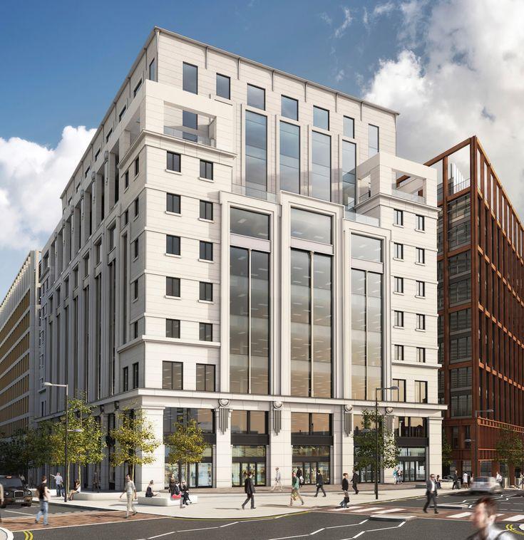 Three Pancras Square, King's Cross, London - Porphyrios & Associates