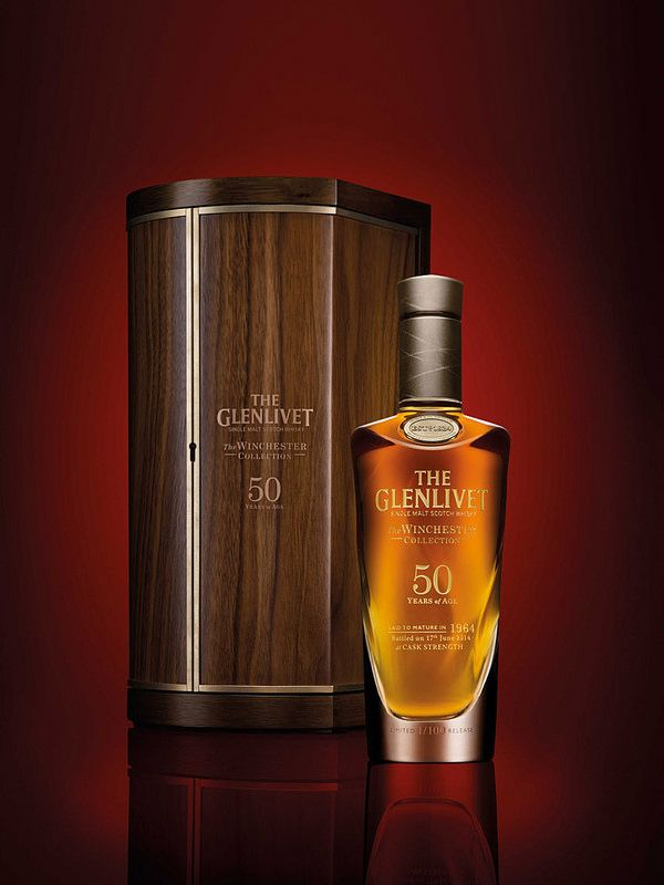 7 Rare Whiskies Worth the Investment The Glenlivet Winchester Collection: Vintage 1964 ($25,000)