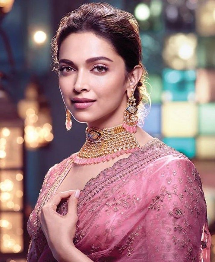 Deepika Padukone Fanpage On Instagram Deepika Padukone For Tanishq Virasat 2019 Deepikapa Deepika Padukone Style Beautiful Indian Actress Bollywood Actress
