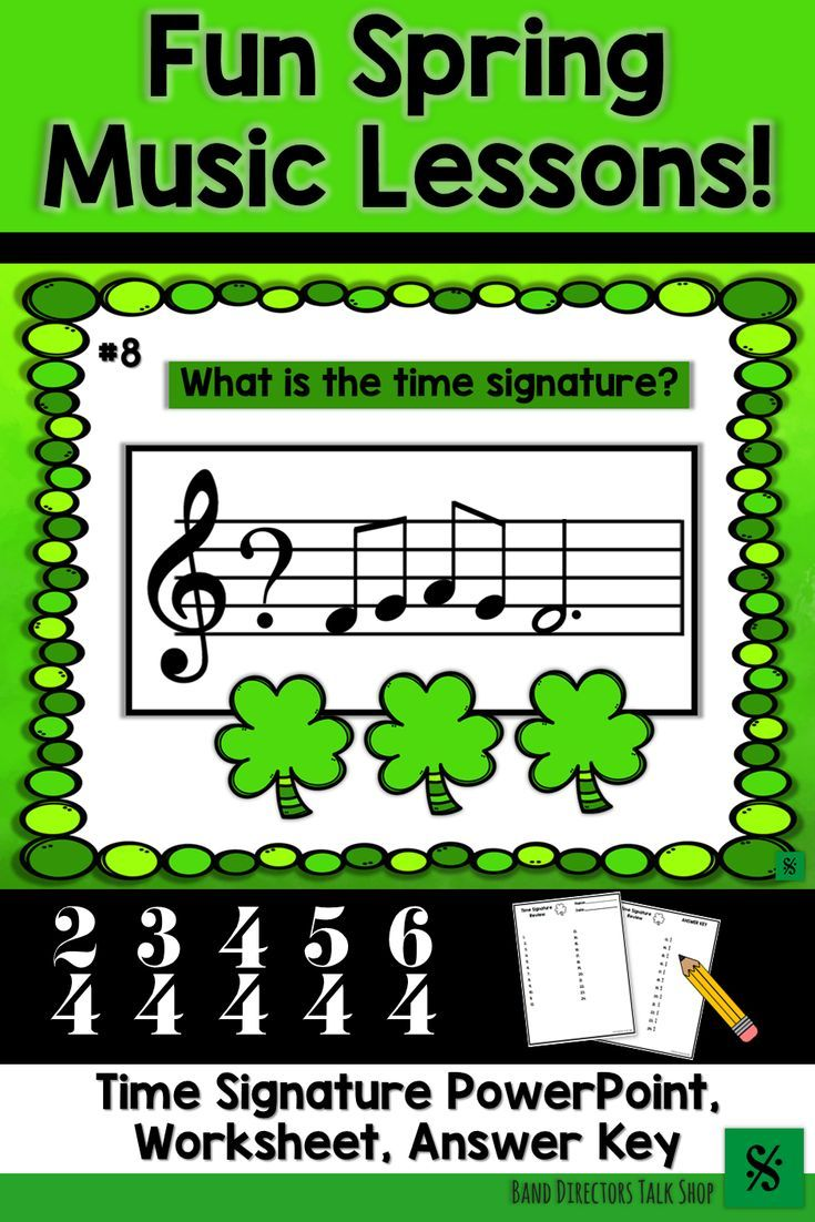 St  Patrick's Day Music Activities / St  Patricks Day Music Game