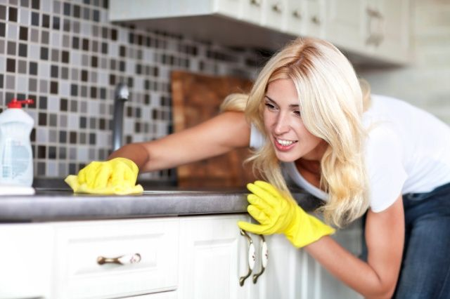 Your kitchen harbors millions of germs, and harsh chemical cleaners can do more harm than good. Learn about the dirtiest spots in your kitchen and how to safely keep them clean.