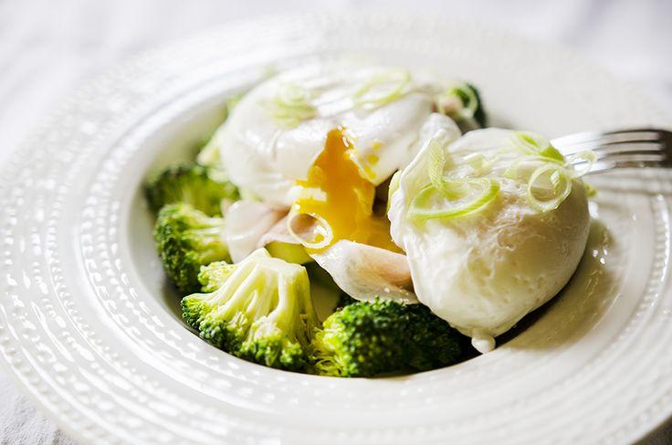 #breakfast #poached #egg #broccoli #prosciutto #foodcoaching