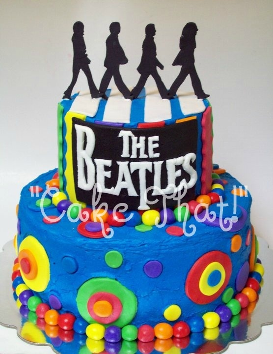 Best 25 Beatles Cake Ideas On Pinterest Beatles
