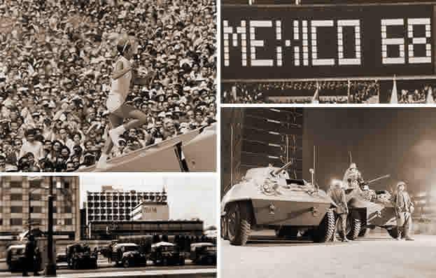 Enriqueta Basileo. México 68. Matanza de Tlatelolco y los XIX Juegos Olímpícos.