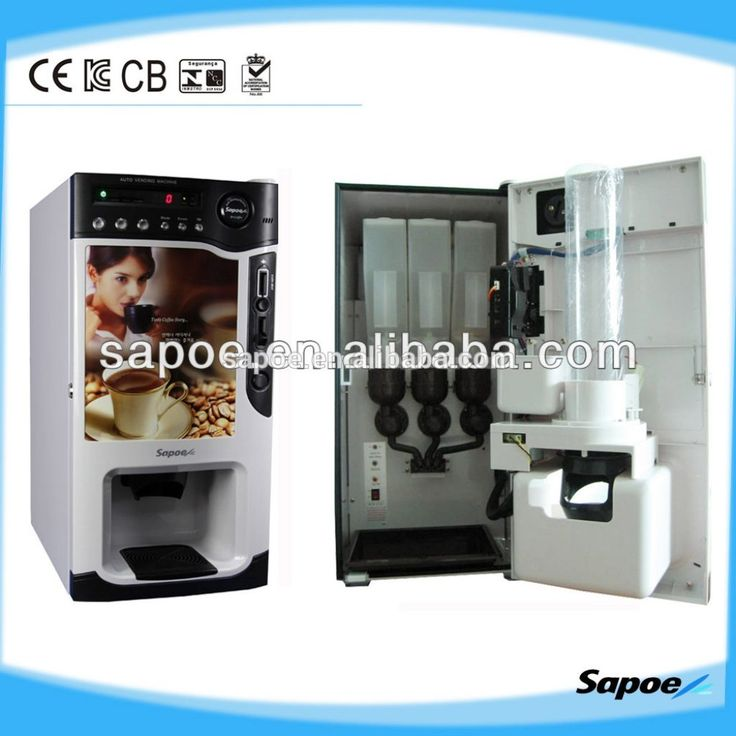 Coin Operated Table Top Coffee Vending Machines