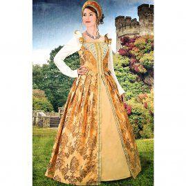 Alžbětínské jantarové šaty