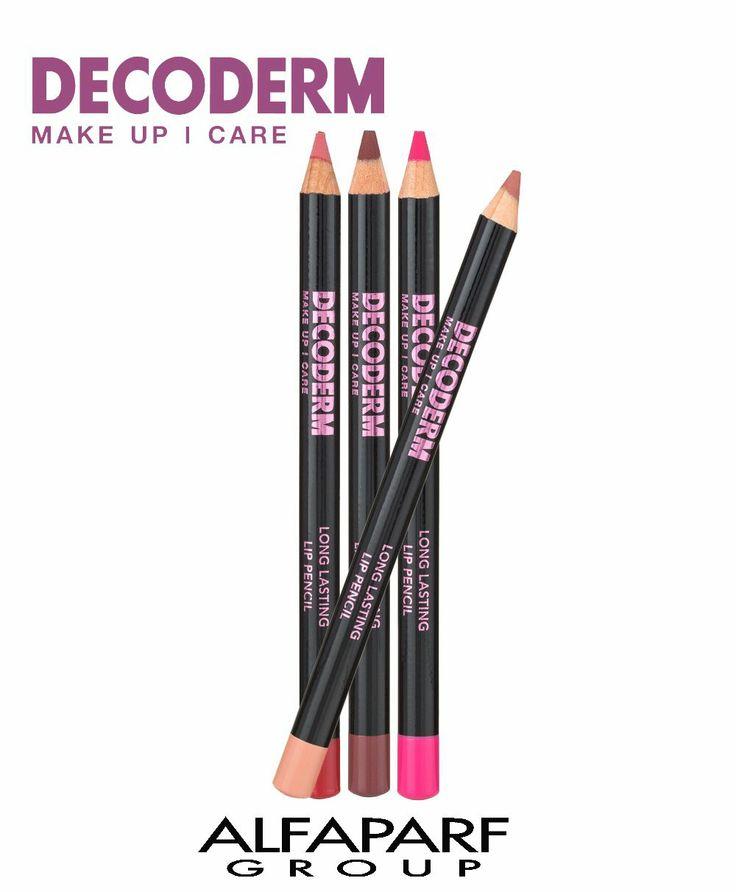 Decoderm Make Up Care LONG LASTING LIP PENCIL Lápiz para el contorno de  labios con la