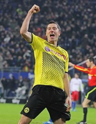 Robert Lewandowski, F, Borussia Dortmund