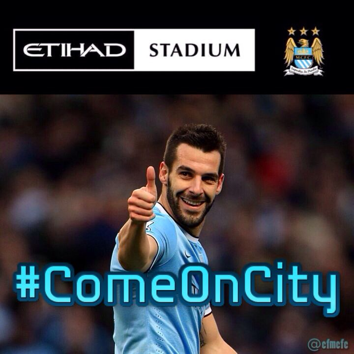 Come On City! #mcfc #manchester #city