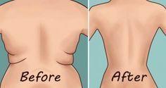 Éliminez la graisse sur les hanches et le dos avec ces 4 Exercices rapides et simples. (Vidéo)