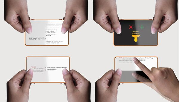 Business Card of the future... By Fitorio Leksono