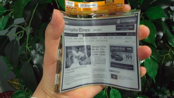 Flexible displays are coming awesome!