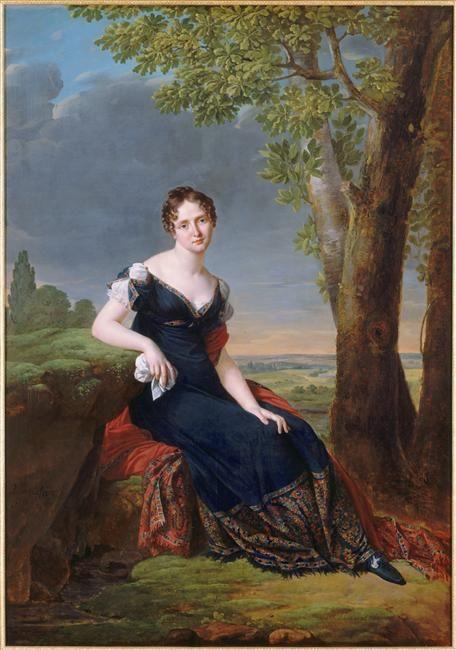 Salomé Louise Coulmann, comtesse Walther by Robert Lefevre (Versailles)